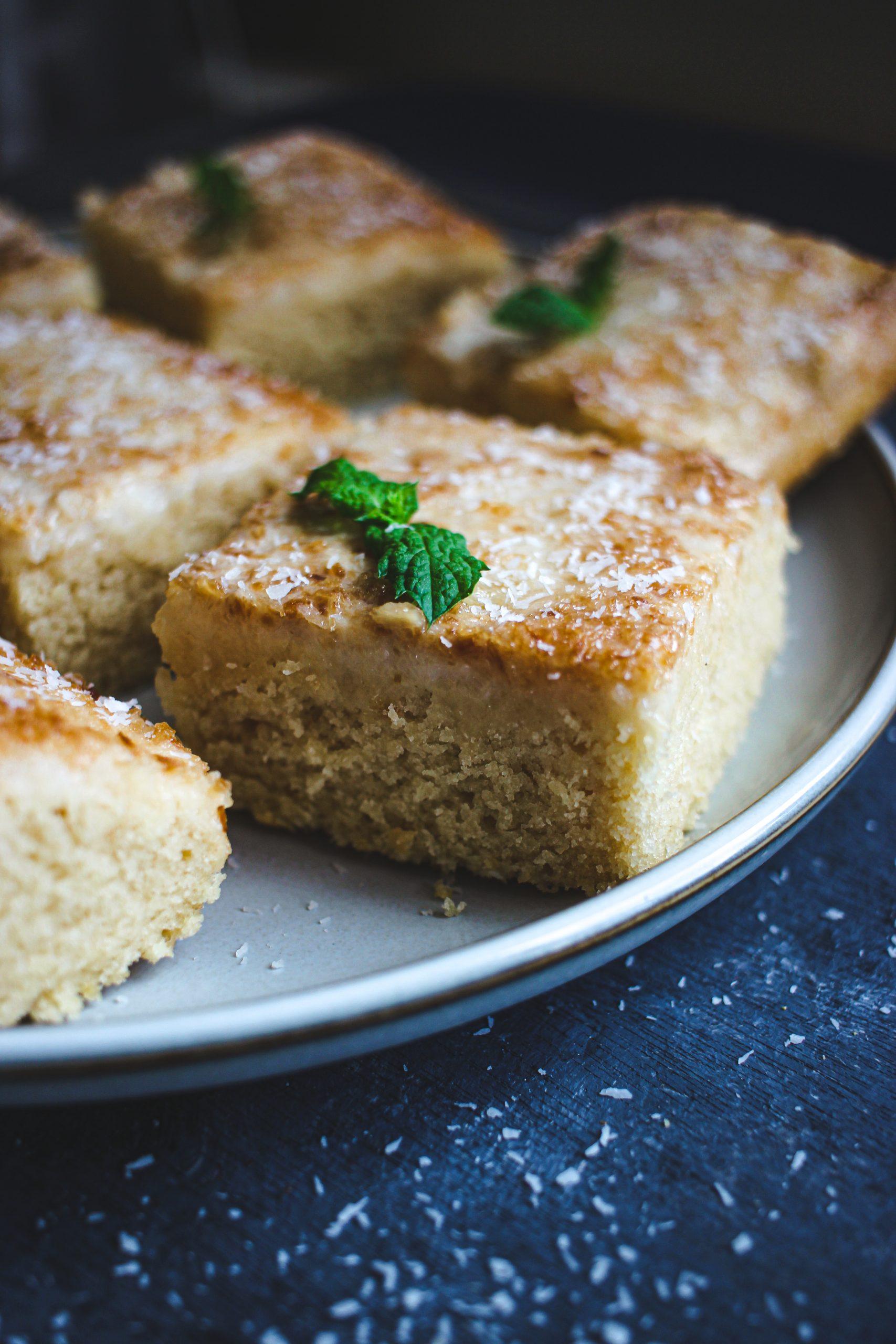 Vegan kokosový koláč